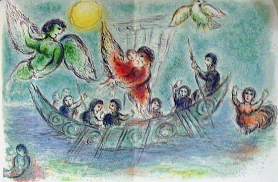 Marc Chagall, Les sirènes d'ulysse