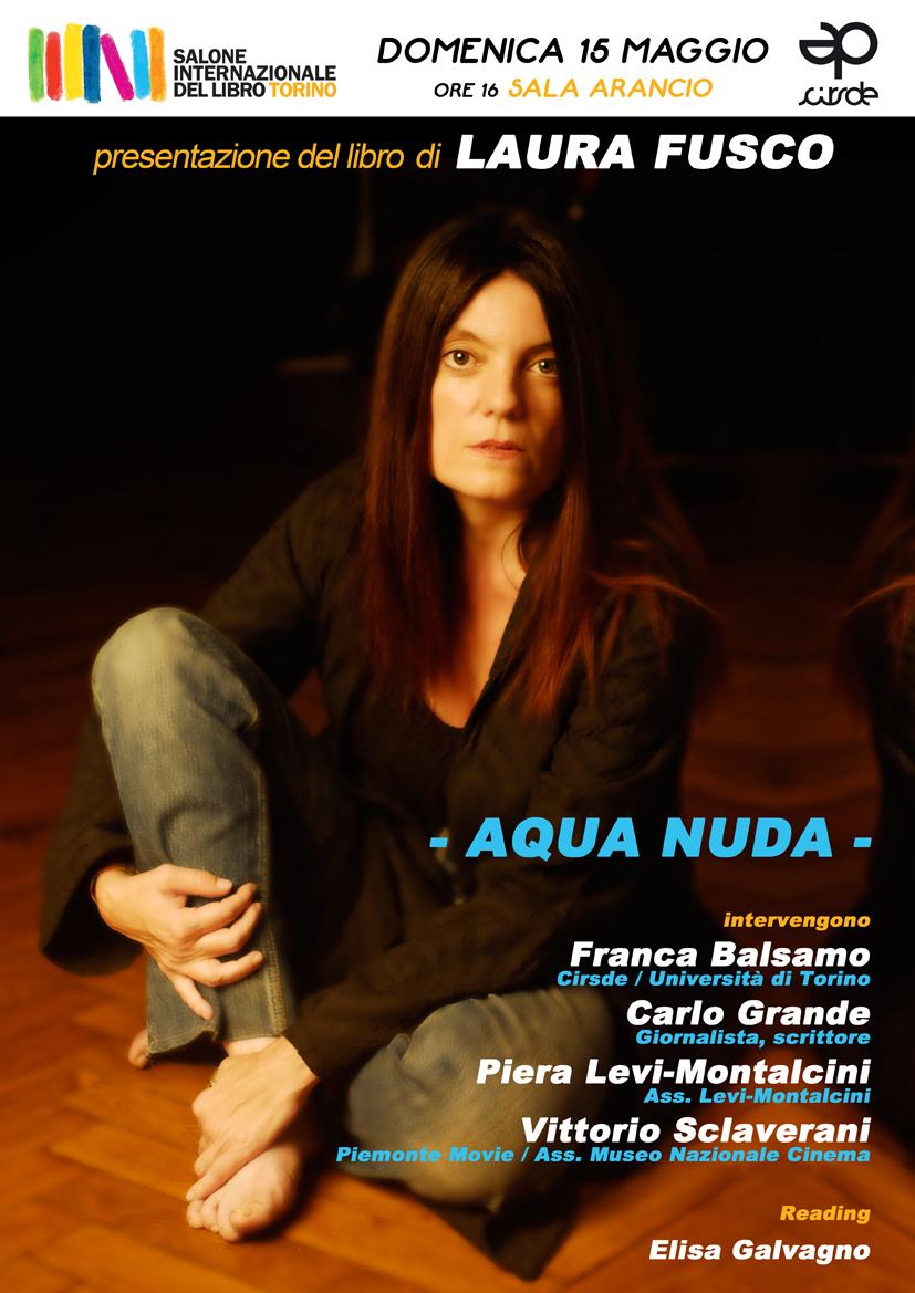 """""""Aqua nuda"""" (Kolibris 2011) di Laura Fusco al Salone Internazionale del Libro di Torino"""