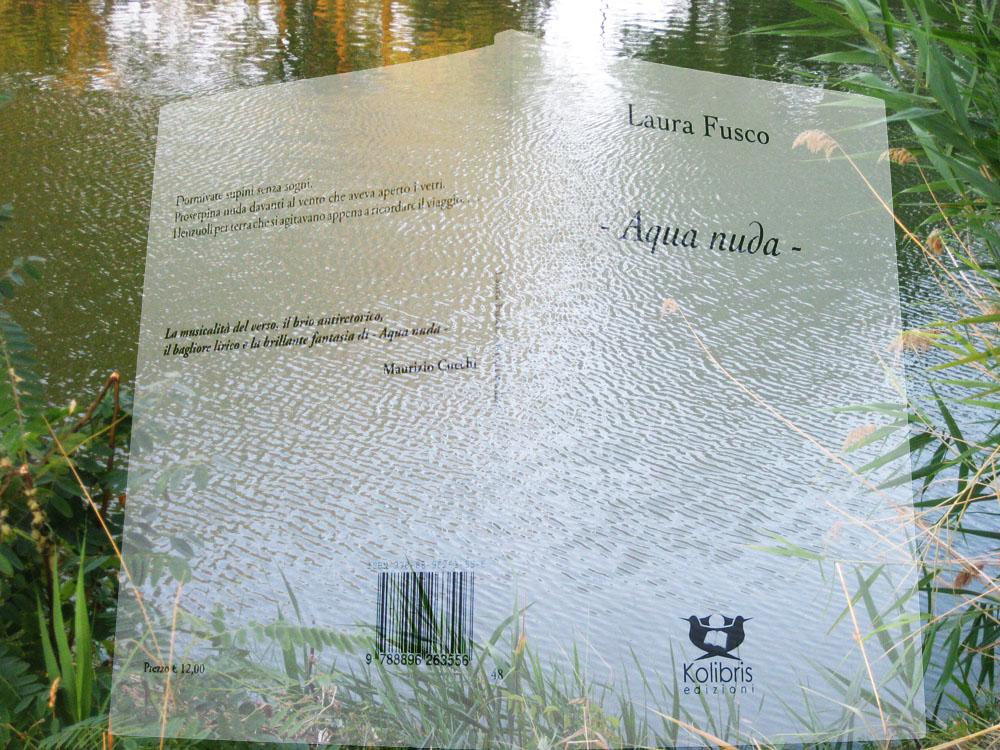 """Prima ristampa di """"- Aquanuda -"""" di Laura Fusco"""
